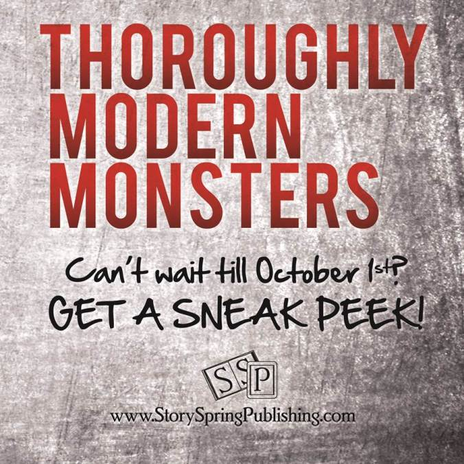 Thoroughly Modern Monsters, out on October 1st!